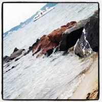 Photo taken at Le Pingouin Bleu by mj g. on 7/19/2014