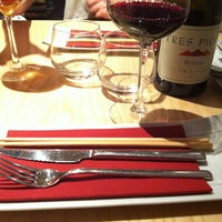 Photo taken at Uasabi Japanese Resto Bar by Paula F. on 7/24/2013