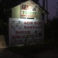 Photo taken at İğneada Yelken Hotel Restaurant by Umut G. on 7/7/2016
