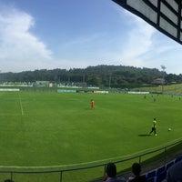 Photo taken at El Mundo del Fútbol by Moncho L. on 9/4/2016