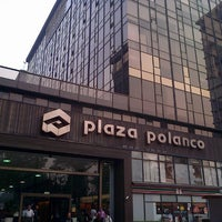 Photo taken at Plaza Polanco by Hector P. on 4/15/2013