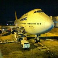 Photo taken at Nadi International Airport (NAN) by Nellie H. on 3/31/2013