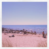 Photo taken at Plage de Rochelongue by Olivier M. on 8/20/2013