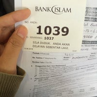 Photo taken at Bank Islam by m O m O on 6/13/2016