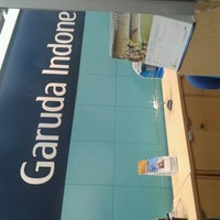 Photo taken at Garuda Indonesia Sales & Ticketing Office by aty c. on 6/26/2013