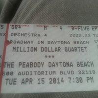 Photo taken at Peabody Auditorium by Mark R. on 4/15/2014