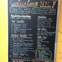 Photo taken at Gorilla Cheese Truck NYC by Kingsley H. on 1/28/2013