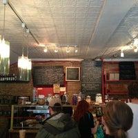 Photo taken at Tazza Bakery Enoteca by Kingsley H. on 5/24/2013