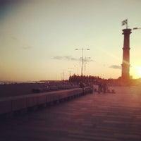 Photo taken at Пляж в Парке 300-летия by Lena K. on 7/12/2013