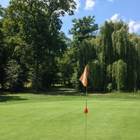 Photo taken at Golf de Hombourg by Sergio R. on 7/2/2014