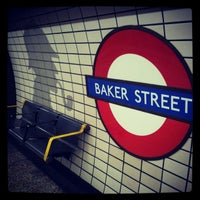 Photo taken at Baker Street by Alice P. on 12/20/2012