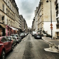 Photo taken at Rue Jean Nicot by Alfy d. on 3/19/2013