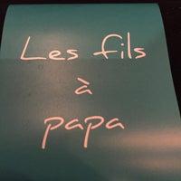 Photo prise au Les Fils à Papa par Loïc . le3/18/2015