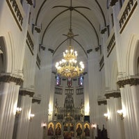 Photo taken at Iglesia San Nicolas by Carolina S. on 4/2/2016