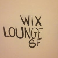 Photo taken at Wix Lounge by Isaiah S. on 10/24/2012