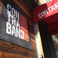 Photo taken at Contraband Coffeebar by Isaiah S. on 10/10/2012