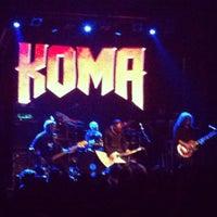 Foto tomada en Sala Arena por Metalovision T. el 10/13/2012