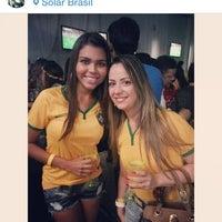 Photo taken at Solar Brasil by Pâmela Carvalho  on 6/13/2014