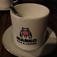Photo taken at Marko Milk and Coffee by ayu c. on 11/19/2013