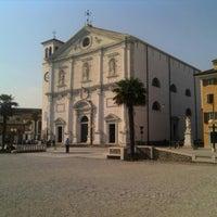 Photo taken at Duomo Palmanova by Gianca F. on 4/19/2013