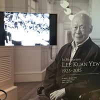 Photo taken at In Memoriam: Lee Kuan Yew by Gregory C. on 4/6/2015