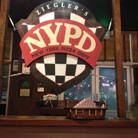 Photo taken at NYPD Pizza by Brandon G. on 4/21/2013