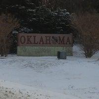 Photo taken at Oklahoma / Texas Border by Jonathan S. on 12/26/2012
