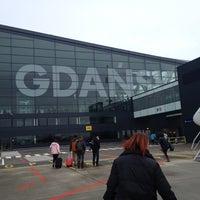 Photo taken at Gdańsk Lech Wałęsa Airport (GDN) by Onur A. on 11/25/2012