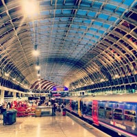 Photo taken at London Paddington Railway Station (PAD) by Alex K. on 7/13/2013