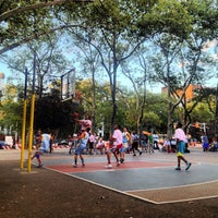 Photo taken at Chrystie St. Courts by Zachary M. on 8/5/2013
