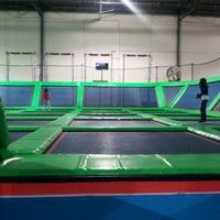Photo taken at Rebounderz by Christopher T. on 1/19/2013