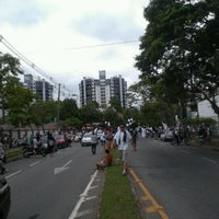 Photo taken at Alameda Rio Branco by Taíse V. on 12/16/2012