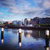 Photo taken at The River Liffey by Jules K. on 7/25/2013