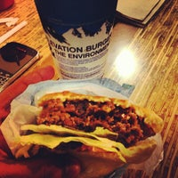Photo taken at Elevation Burger by Sameer's E. on 10/21/2012