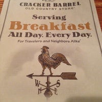 Photo taken at Cracker Barrel Old Country Store by Melanye I. on 12/20/2012