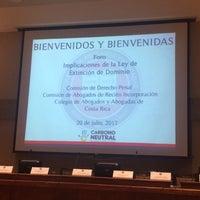 Foto tomada en Colegio de Abogados por Ana U. el 7/20/2017