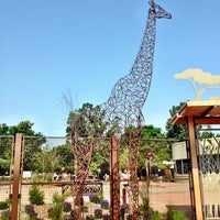 Photo taken at Great Plains Zoo by Erik R. on 7/8/2013