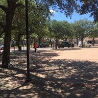 Photo taken at San Augustin Plaza by Erik R. on 7/27/2016