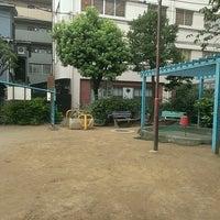 Photo taken at もみの木公園 by Kamemaru I. on 8/24/2014