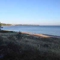 Photo taken at Ordrup Strand by Anders J. on 9/4/2014