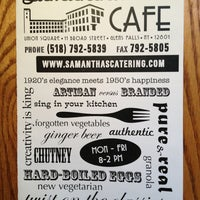 Photo taken at Samantha's Cafe & Catering by Liz W. on 3/7/2013