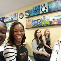 Photo taken at Painting with a Twist by RJ on 5/10/2015