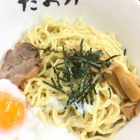 Photo taken at 油そば専門店 たおか 北24条店 by Kaede on 12/30/2016