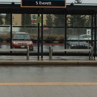 Photo taken at S. Everett Park & Ride by Trevor L. on 1/24/2013