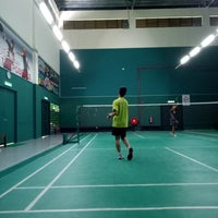 Photo taken at Penang Badminton Academy by Yeoh S. on 9/22/2016