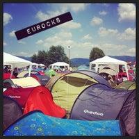 Photo taken at Camping des Eurockéennes by Sarah M. on 7/7/2013