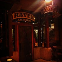 Photo taken at Haven Gastropub by It's M. on 12/30/2012