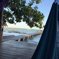 Photo taken at Bacalar by Isabel G. on 2/21/2017