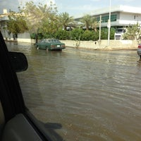 Photo taken at King Abdul-Aziz Roundabout by Aunt Juli on 11/28/2012