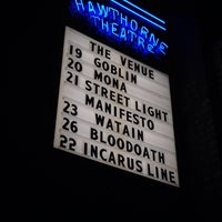 Photo taken at Hawthorne Theatre by Lori B. on 10/20/2013